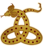 Gehörnte Schlange